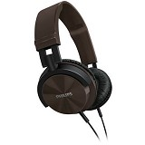 PHILIPS Lightweight Headphone [SHL 3000BR/00] - Brown - Headphone Portable